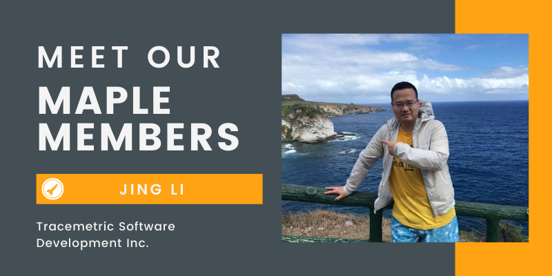 Meet Our Maple Member: Jing Li, Tracemetric Software Development Inc. (Mobile Advertising, SaaS)