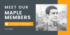 Maple Member Joshua Rabanne