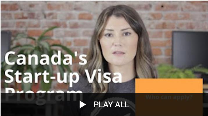 Startup Visa FAQs